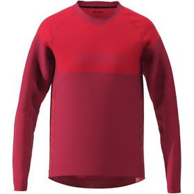 Zimtstern Bulletz LS Shirt Men, jester red/cyber red